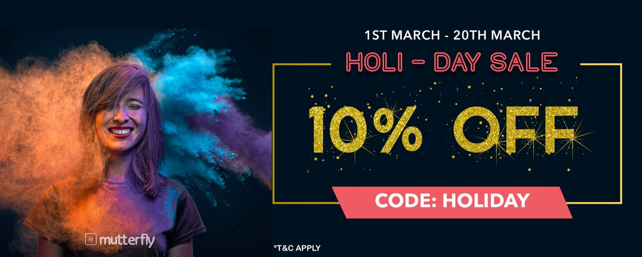 Holi-Day Sale